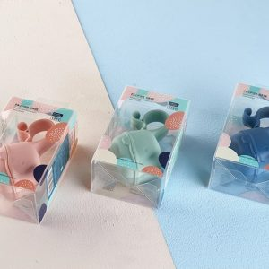 Контейнер для пустышки BIBS розовый синий и мятный